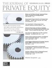 The Journal of Private Equity: 22 (2)