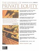 The Journal of Private Equity: 22 (3)
